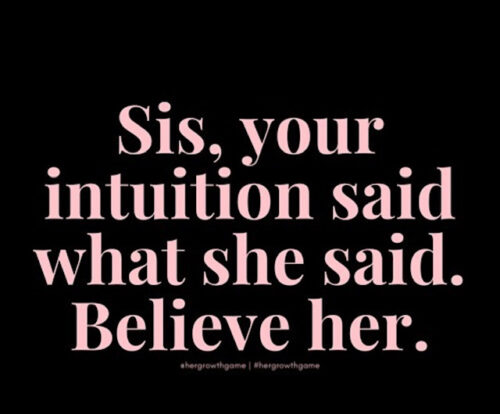 Your Intuition is Always Right–Listen to It